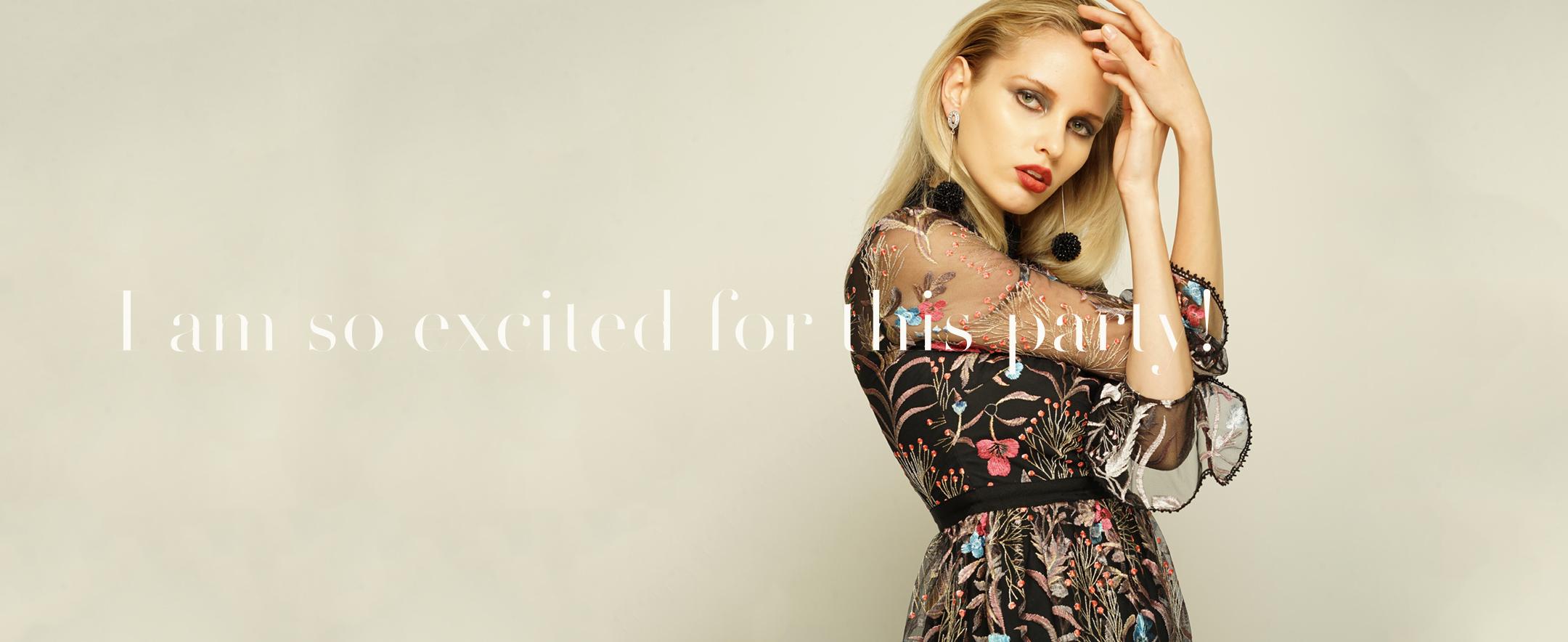 ゲストドレスのレンタル商品一覧ページです。
