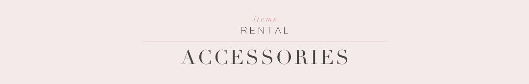 アクセサリー|結婚式やパーティーのためのレンタルドレス|HAUTE rent to runway