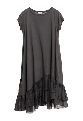 【Morgane Le Fay】SILK FRILL DRESS