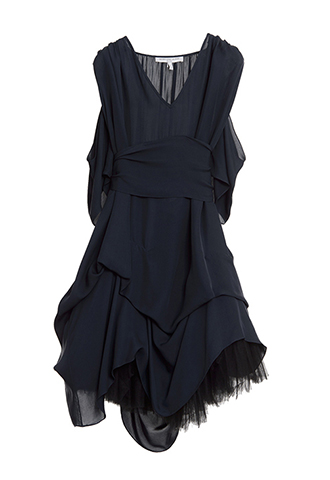 【Morgane Le Fay】DRAPE CHIFFON DRESS