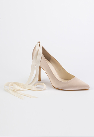 【THE TREAT DRESSING】SATIN SHOES